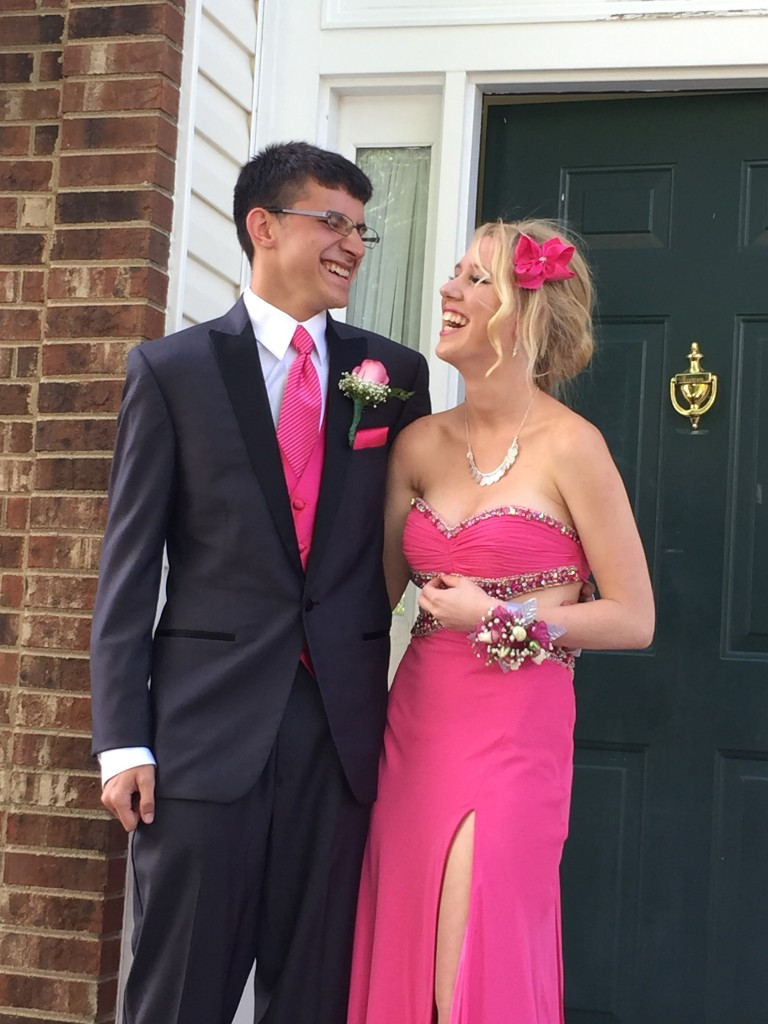 This is one of my favorite prom pictures of them.